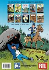 Verso de Les tuniques Bleues -26Été- L'Or du Québec
