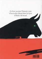 Verso de L'arabe du futur -2- Une jeunesse au Moyen-Orient (1984-1985)