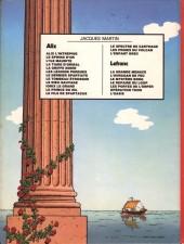 Verso de Alix -2b1981- Le Sphinx d'or