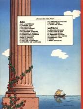 Verso de Alix -9a1982- Le Dieu sauvage