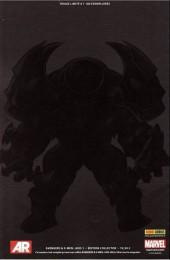 Verso de Avengers & X-Men : Axis -21/2- Inversion