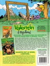 Verso de Valentin le vagabond -4a2001- Valentin fait le singe