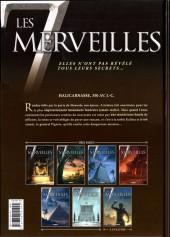 Verso de Les 7 merveilles -6- Le Mausolée d'Halicarnasse - 350 av. J.-C.