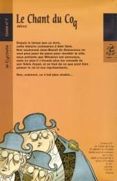 Verso de Le chant du coq -7- Le Chant du Coq
