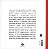 Verso de (AUT) Hergé -FL- Musée Hergé