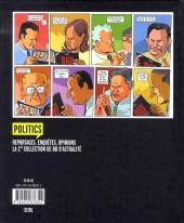Verso de Objectif Elysée : les coulisses de la présidentielle en BD - Tome 1