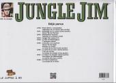 Verso de Jungle Jim (Jim la jungle) -1948- Strips hebdomadaires 1948