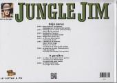 Verso de Jungle Jim (Jim la jungle) -1946- Strips hebdomadaires 1946