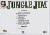 Verso de Jungle Jim (Jim la jungle) -1947- Strips hebdomadaires 1947