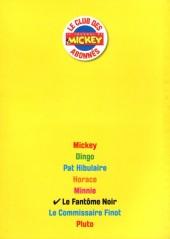 Verso de Les héros de Mickeyville -6- Le Fantôme noir