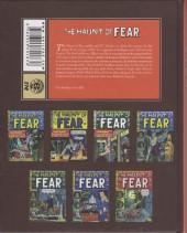 Verso de Haunt of Fear (The) -INT1- The Haunt of Fear Volume 1