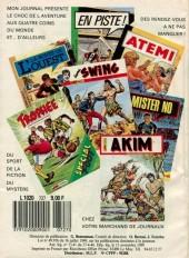 Verso de Akim (1re série) -727- Terreur dans la jungle