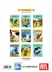 Verso de Yakari -1Été- Yakari et Grand Aigle