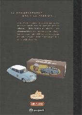 Verso de Les enquêtes auto de Margot -2TL- Les déesses de la route