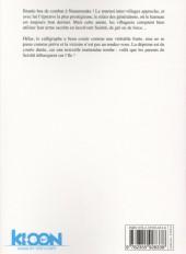 Verso de Barakamon -10- Tome 10