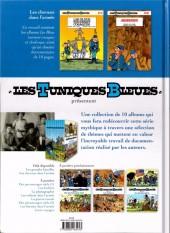 Verso de Les tuniques Bleues présentent -2- Les chevaux dans l'armée
