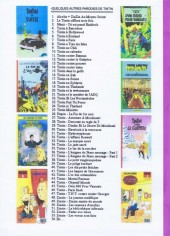Verso de Tintin - Pastiches, parodies & pirates -8a- Tintin chez les rastas
