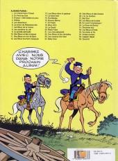 Verso de Les tuniques Bleues -20b1994- Black Face