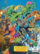Verso de Batman Vs La Masa - El monstruo y el loco