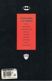 Verso de Batman/Judge Dredd - Vendetta in gotham