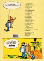 Verso de Tif et Tondu -4b1987- La main blanche