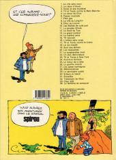 Verso de Tif et Tondu -23b1986- Tif et Tondu à New York