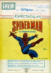 Verso de Peter Parker: Spiderman -8- ¡Rabia final!