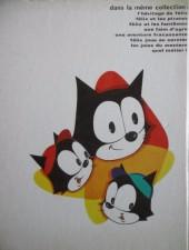 Verso de Félix le chat (M.C.L.) -9- La grande aventure