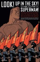 Verso de Superman: Red Son (2003) -1- Red Son Rising