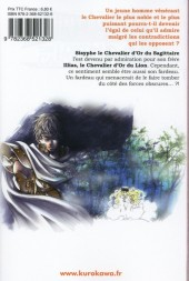 Verso de Saint Seiya : The lost canvas chronicles -10- Volume 10