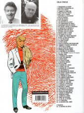 Verso de Ric Hochet -25d01- Coups de griffes chez Bouglione