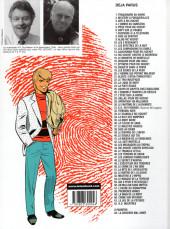 Verso de Ric Hochet -24b00- La piste rouge