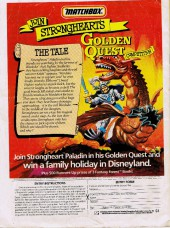 Verso de Savage Sword of Conan The Barbarian (The) (Marvel UK) -82- The colossus of Shem