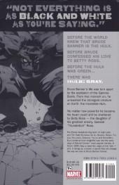 Verso de Hulk: Gray (2003) -INTa- Hulk: Gray