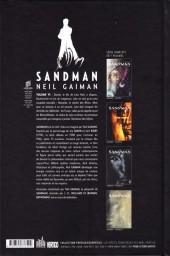 Verso de Sandman (Urban Comics) -6- Volume VI
