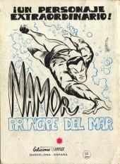 Verso de La masa (Vol. 1) -9- Peligro en el pantano