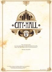 Verso de City Hall -7TL- Tome 7