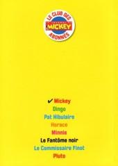 Verso de Les héros de Mickeyville -1- Mickey