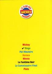 Verso de Les héros de Mickeyville -2- Dingo