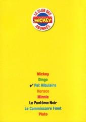 Verso de Les héros de Mickeyville -3- Pat Hibulaire