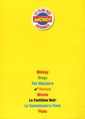 Verso de Les héros de Mickeyville -4- Horace