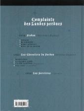 Verso de Complainte des Landes perdues -2c- Blackmore