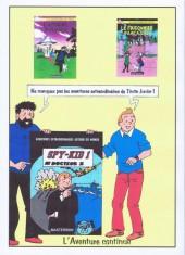 Verso de Tintin - Pastiches, parodies & pirates - L'Affaire Roswell