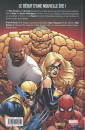 Verso de The new Avengers (Marvel Deluxe - 2015) -1- Possession
