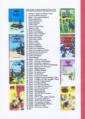 Verso de Tintin - Pastiches, parodies & pirates - Tintin à Tien An Men