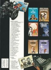 Verso de Spirou et Fantasio -9Pub2- Le Repaire de la murène