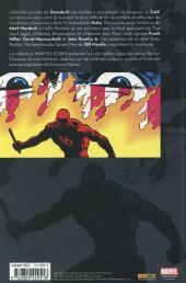 Verso de Daredevil (Marvel Icons) -3- Tome 3