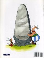Verso de Astérix (en langues étrangères) -9Gallois- Asterix a Gorchest prydain
