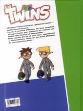 Verso de Les twins -1- Jumeaux mais pas trop !