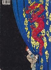 Verso de Léonid Beaudragon -1- Le fantôme du Mandchou fou